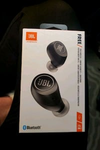 JBL Free In-Ear Bluetooth Truly Wireless Headphones - Black   Abbotsford, V2T 2N5