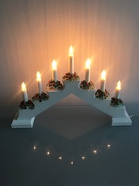 White candle holder Gothenburg, 412 63