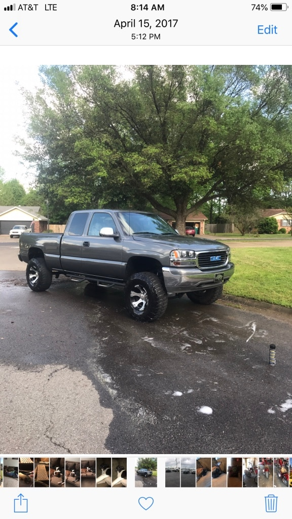 Photo 2001 GMC Sierra 1500 4WD Extended Cab 6 1/2-ft SLE