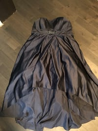 Navy Strapless High Low Gown*reduced* Whitby, L1R 1W6