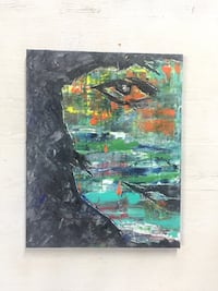 Abstract painting Clifton