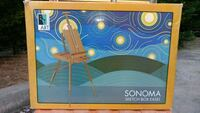 New In Box Sonoma Sketch Box Portable Easel