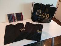 Brand New Notebooks & T-Shirts with Gift Bag TORONTO