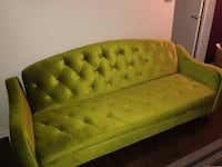 Chartreuse Convertible Couch