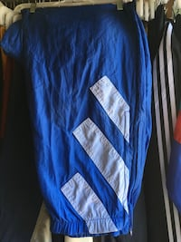 blue and white Adidas track pants Toronto, M6B 2E9