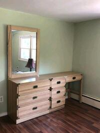 Free bedroom furniture piece with mirror New Milford, 07646