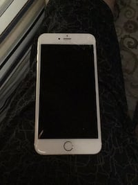 silver iPhone 6 with black case Miami, 33186