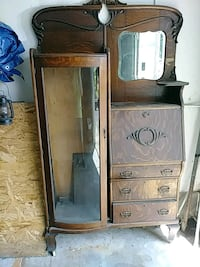 brown wooden cabinet with drawer Buckeye Lake, 43008