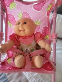 Stroller & Cabbage Patch Baby