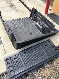 Bedliner Colorado / Canyon 2015-current. with Tailgate liner Mineral Ridge, 44440