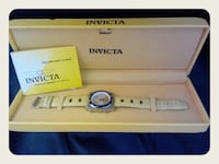 Invicta Invicta Men's Yellow Leather with Box and Booklet Honolulu, 96814