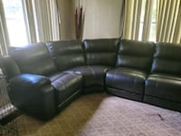 Leather Power Reclining Sectional  Belleview, 34420