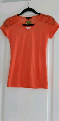 New With Tags Women's Coral Colored Top Barrie, L4N 0T3