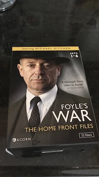 Dvd collection of Foyles War season sets 1-6 Sterling Heights, 48313