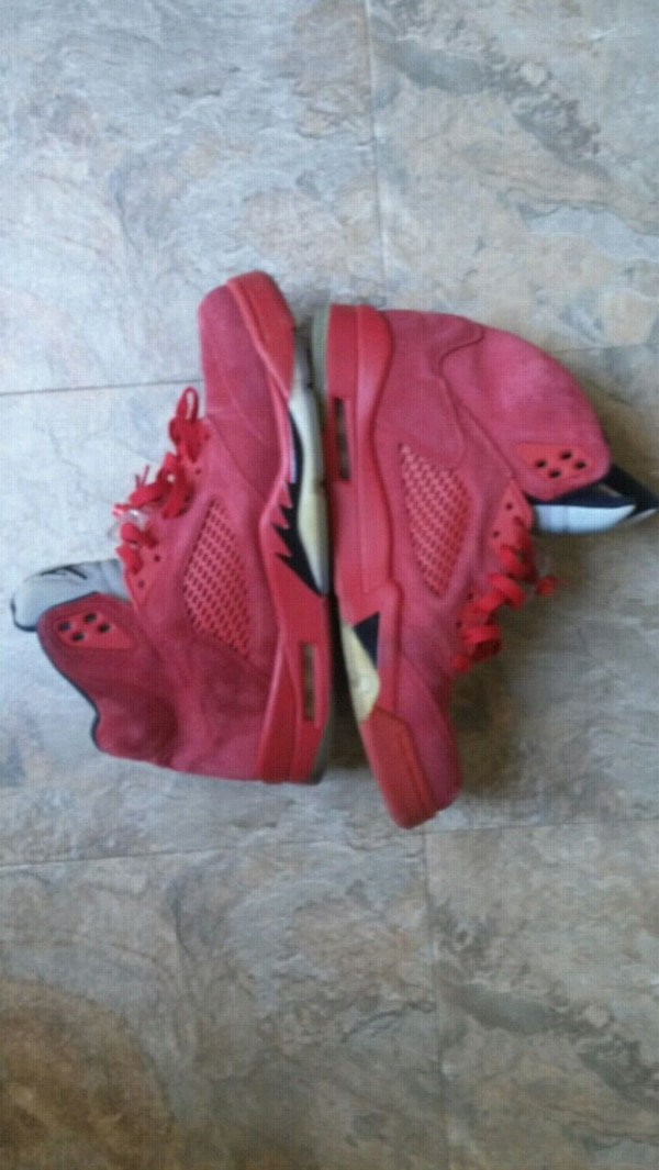 03935929a87 Jordan Retro 5 Red Suede - Size 10.5. HomeFashion and Accessories San Bruno