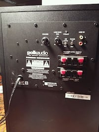 "Polk Audio 100 watt8"" powered sub.. 100$ only Edmonton, T5W 2Y3"