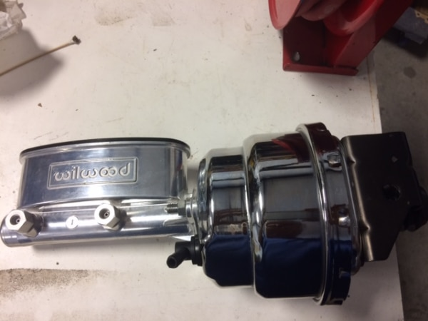 Wilwood power brake booster and Master cylinder
