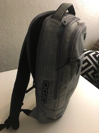 Black and Gray OGIO Backpack  Ames, 50010