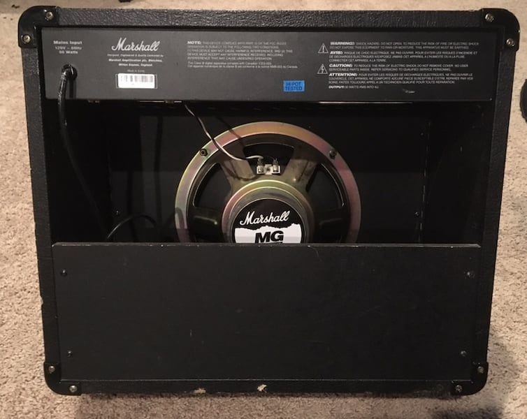 Marshall MG30 DFX 30 Watt Guitar Combo Amp With Effects cdccb3c1-14d4-4a29-bf16-0eaa2aac531e