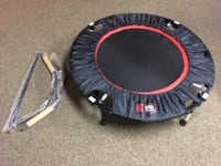 Urban Rebounder with Workout DVD & Stabilizing Bar-- like new! Lansing