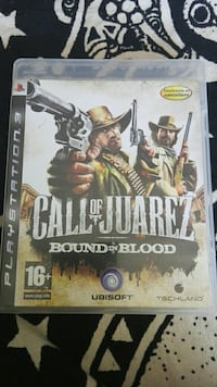 Call of Juarez Bound in blood PS3 game case Oviedo, 33001