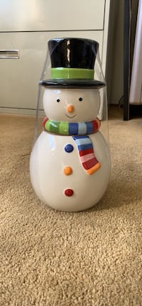 Snowman cookie jar Palo Alto, 94304