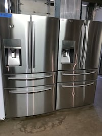 Samsung stainless steel 4-doors fridge working perfectly from $800 and up Baltimore, 21223