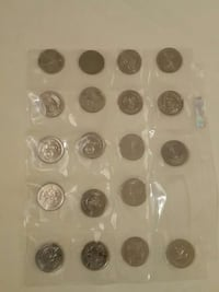round silver coin collections Calgary, T2A 3K8