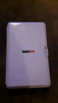 Nintendo ds case with game and vintage carrier
