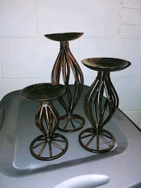 Set of 3 candle holders West Allis, 53214
