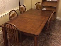 Dining room table with six chairs Parker, 80138