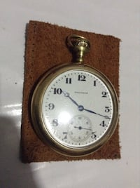 Antique Waltham pocket watch . Works perfectly