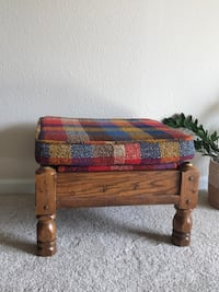 vintage footstool / coffee table Lone Tree, 80124