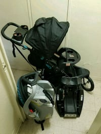 baby's black and gray travel system Los Angeles, 91343