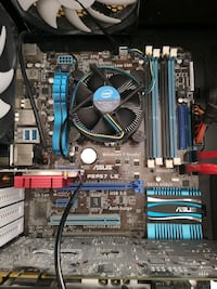 I5-2500 cpu and Asus P8P67 LE LGA 1155 Socket Motherboard combo