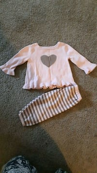 Babygap outfit size 3-6 months Whitby, L1N 3C7