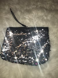 Black and silver sequin sling bag Azusa, 91702