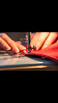 Stitching clothes