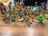 Assorted color of dragon figurines Winchester, 22602