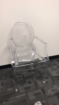 Clear acrylic chairs Calgary, T2G 5G3