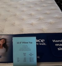 King Pillowtop Mattress Set $49 Down Today