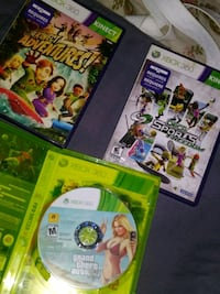 three assorted Xbox 360 game cases Oildale, 93308