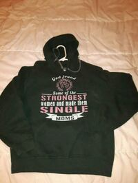 BNWOT Single mom hoodie, forest green Langley Township, V4W 3H7