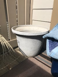 Large Planter - Cement style but lighter weight!