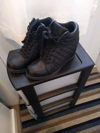 Black wedge sneakers Laval, H7T 3A2
