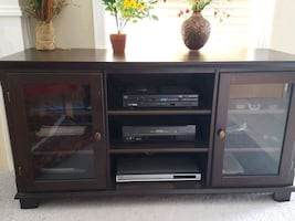 TV Stand Entertainment Center Consol Table Server Cabinet.