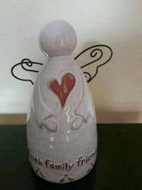 Ceramic painted faith family friends Antioch