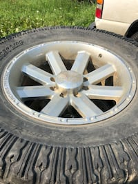 20 inch incubus 8 bolt rims with tires.  Edmonton