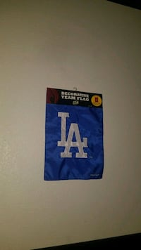 blue and white Los Angeles Dodgers jersey Palmdale, 93551
