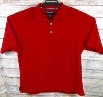 Foot Joy Red Short Sleeve Polo Shirt